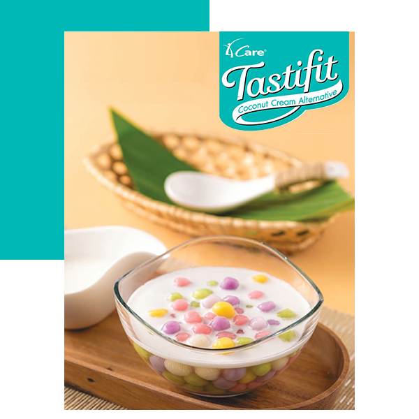 FIVE COLORS GLUTINOUS RICE BALLS IN TASTIFIT SYRUP Square2